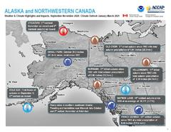 Preview of the Quarterly Climate Impacts and Outlook for Alaska and Northwestern Canada