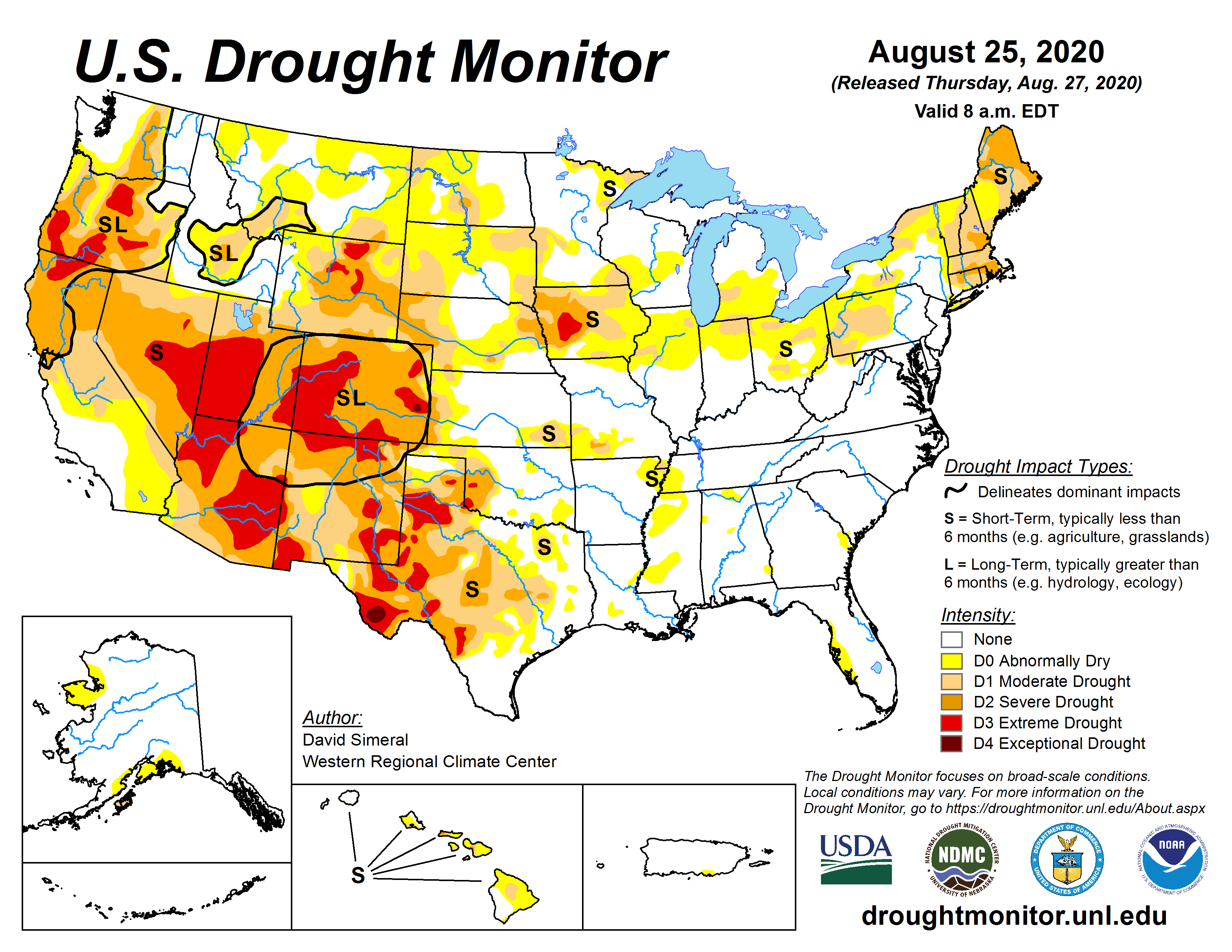Us Current Drought Map 2020 Drought Update: A Look at Drought Across the United States in