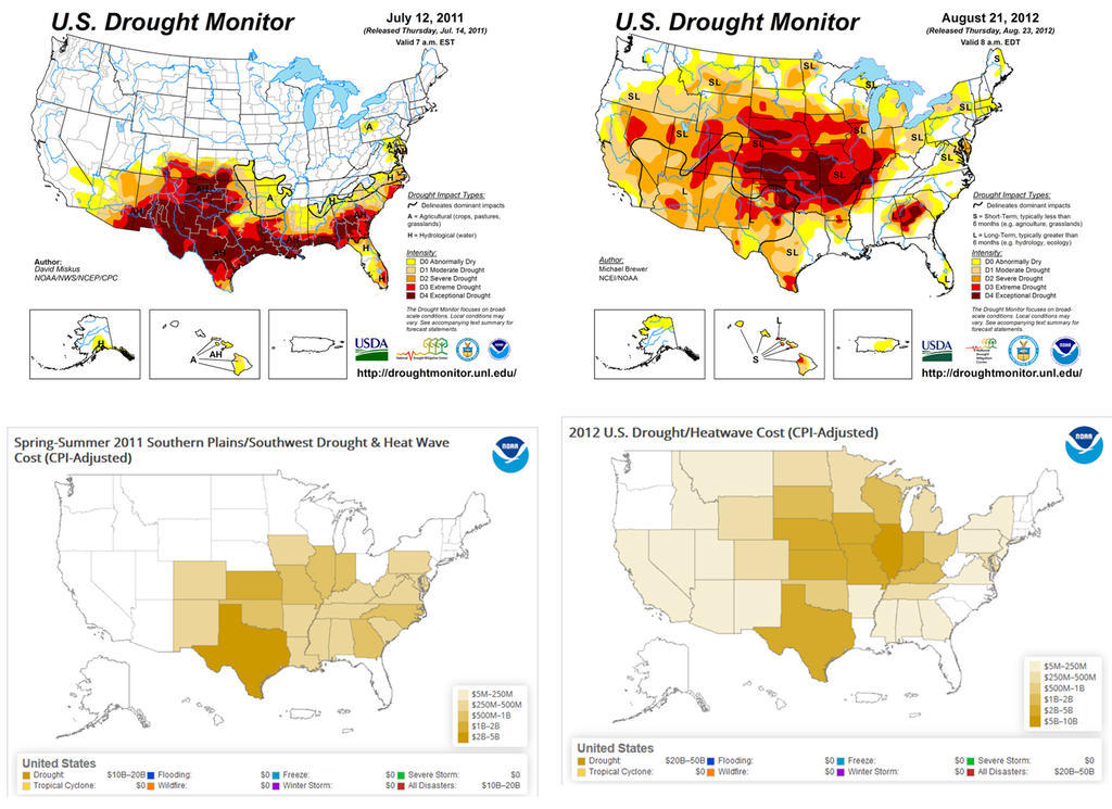 U.S. Drought Monitor Maps