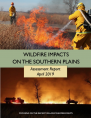 Decorative image. Title page for the 2016-2018 Southern Plains Wildfire Assessment Report